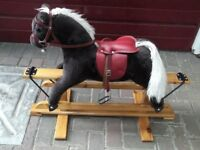 Childs rocking horse H 2ft 4 inches