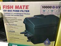 Fish Mate G-UV 10000 UV+BIO Pond Filter BNIB