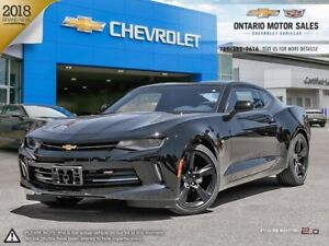 2018 Chevrolet Camaro 1LT 2 DOOR COUPE / RS PACKAGE / REAR VI...