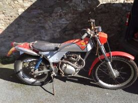Classic Honda TL125, recently made road worthy, Mot March 18.