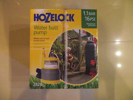 For Sale brand new and boxed Hozelock Water Butt Pump (Submersible Pump) 45£ BARGAIN!!!