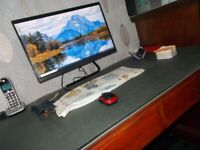 Lenovo All in one Desktop - 1 Year Old