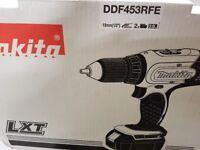 Brand new Makita Pistol Drill (DDF453RFE)