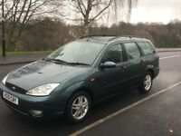 FORD FOCUS 1.6 ESTATE ZETEC 2002/51 12 MONTHS MOT VERY LOW MILES FULL SERVICE