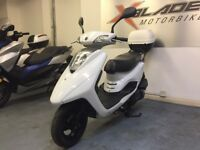 Yamaha XC 125 E Vity Automatic Scooter, White, Givi Back Box Good Condition, ** Finance Available **