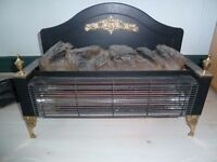 Two bar electric fire