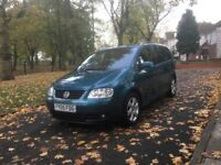 2005 VOLKSWAGEN TOURAN SPORT DSG AUTOMATIC 2.0 TDI 7 SEATER **HEATED LEATHER SEATS + DRIVES GOOD**