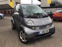 2006 * SMART FOR TWO * 0.7 PETROL * COUPE * F/S/H * AUTO + PADDLE SHIFT * PANORAMIC ROOF * WARRANTY