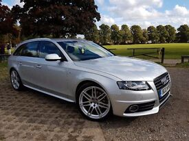 AUDI A4 AVANT 2010 2.0 TDI S LINE SPECIAL EDITION (FSH, CAMBELT,B&O SOUND - VERY GOOD CONDITION!!!)