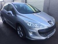 SALE! Bargain Peugeot 308 sport 120, great mpg, long MOT no advisories, ready to go!