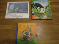 3 GERMAN mini picture books for children, 4+years - Deutsche Kinderbücher