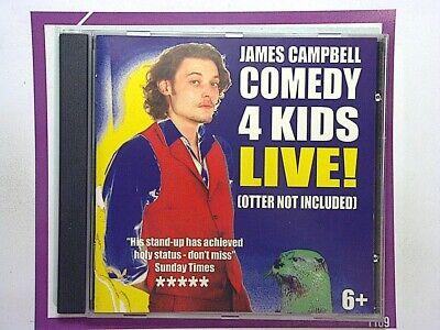 James CampbellComedy 4 kids CD Nr mint Signed