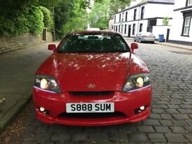 hyundai coupe red 1.6 good condition