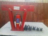 Hydraulic Pipe Bender 12 tonne