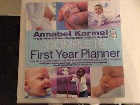 Annabel Karmel first year planner book