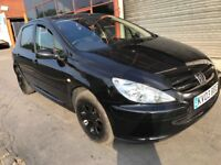 🔥PEUGEOT (307) (1.6) PETROL IN BLACK MANUAL READY TO DRIVE