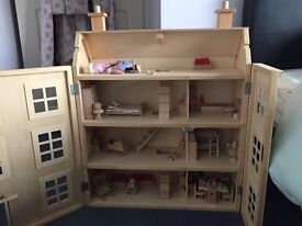 I have a huge dolls house for sale with people and furniture included