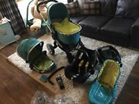 ICandy Peach Travel System and accessories