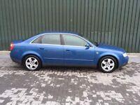 2002 Audi A4 1.9 diesel Quattro. Long mot. Cheap car!
