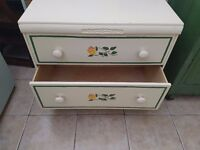 Antique very nice solid wooden Gypsy chest-Draws