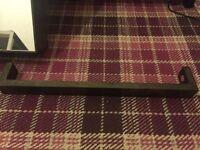 NEW Wireworks Dark Oak Slimline Towel Rail