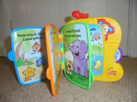 Fisher Price Puppy's Animal Friends Musical Book
