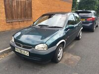 Corsa 1.4L for sale - very reliable little car!