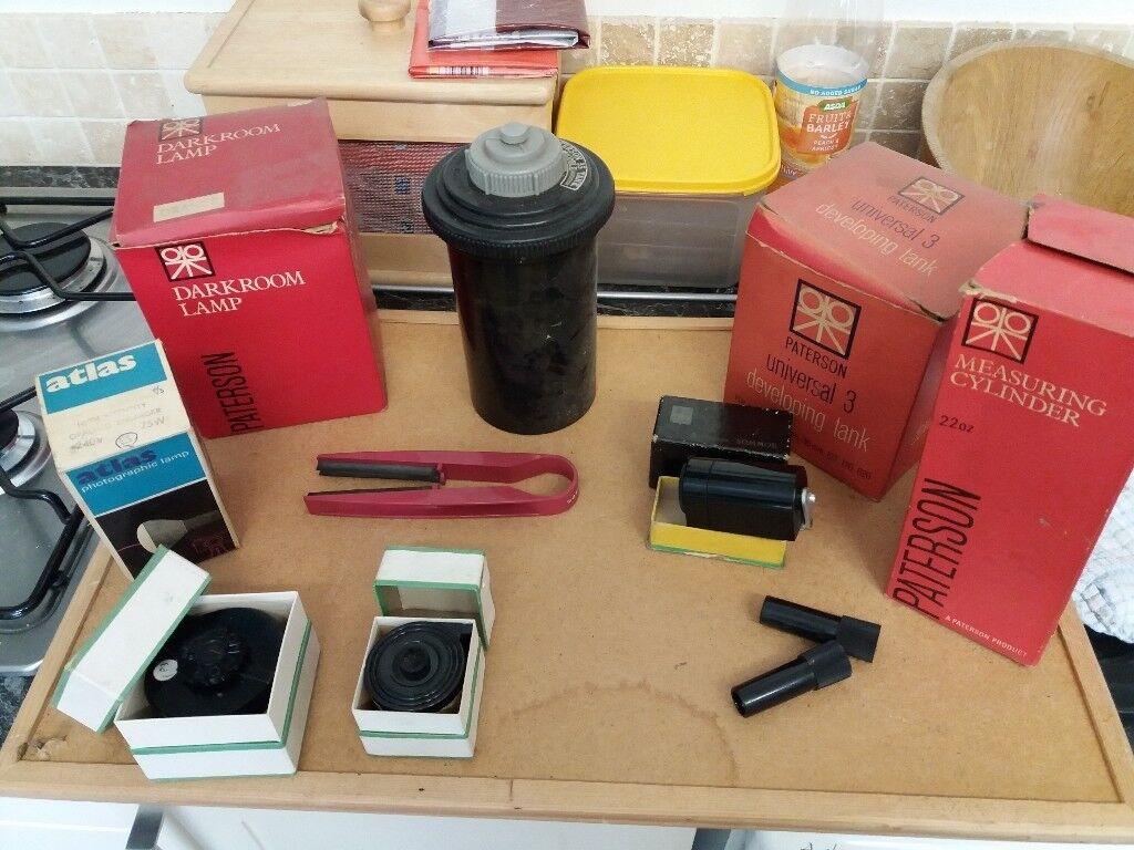 Photographic developing equipment - Paterson film tanks