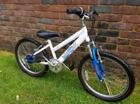 Girls white Raleigh mountain bike 20inch wheels