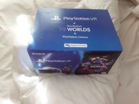 Playstation 4 worlds vr and camera