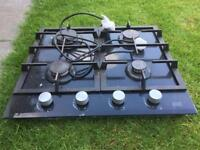 Table top gas oven