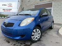 2008 Toyota YARIS LE HATCHBACK POWER GROUP, ABS, CD, AUTOMATIC