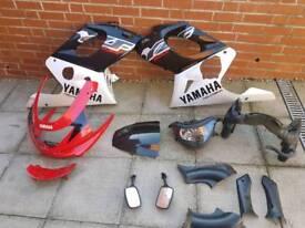 Yamaha thundercat parts