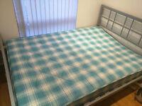 FREE slightly broken bed (bent frame)