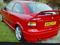 VAUXHALL ASTRA SRI 1.8 ,BREAKING FOR SPARES ,ENGINE/GEARBOX IN VGC.