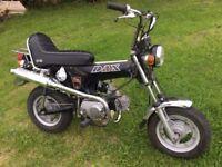 Honda Dax 50 Chopper Monkey Bike