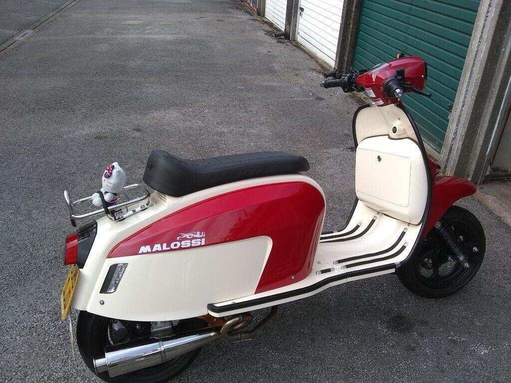 Scomadi TT 125 red&cream | in Newcastle-under-Lyme, Staffordshire | Gumtree
