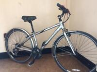 Trek alpha 7100fx women's hybrid bike