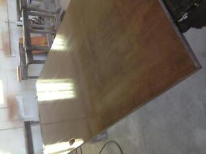 Wood staining and lacquering