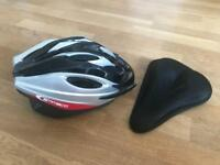 Bike Helmet and Bike Seat Cushion For Sale