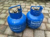 2-4.5Kg Butane Calor Gas Cylinders (Full)