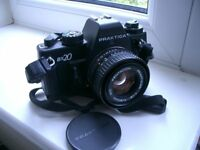 PRAKTICA BX20 35mm Film SLR Camera, PENTACON 50mm F/1.8 MC Lens