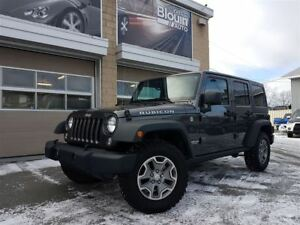 2016 Jeep WRANGLER UNLIMITED Rubicon, Auto, 18148km, 2 Toits