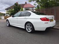 Immaculate alpine white 520d m-sport with sunroof