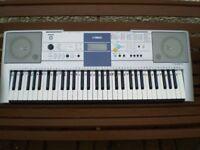 Yamaha Electric Keyboard PSR E323 with inbuilt tutorial display