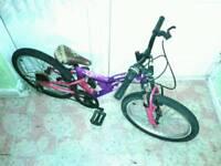 Girls apollo full suspension mini mountain bike (very tidy)