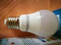 LED Light Bulb ECO RAY 7,5W E27 A55 WW 220-240V 675 lm. new