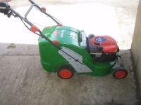 brillencio petrol lawnmower