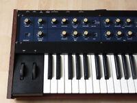 korg kiwisix polysix classic midi analog synthesizer serviced good condition