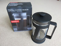 Bodum French Press Crema Coffee Maker Cafetiere Black 8 Cup, 1.01 litre/34 fl oz